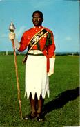 FIJI - DRUM MAJOR - PROBABLY 1960s - Fiji