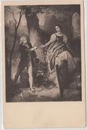 """""""Das Schönste Sucht Er Auf Den Fluren."""" Schiller, Illustration Old Vintage Postcard Unused B170425 - Ecrivains"""