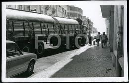 70s REAL PHOTO TRIUMPH DOLOMITE LORRY TRUCK LISBOA PORTUGAL CAR VOITURE - Automobiles