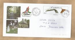 Enveloppe Entière Saint-Agathon (22) 2 Scans 15/07/2008 L'Art Chorégraphique Pont Menhirs Chapelle - 1961-....
