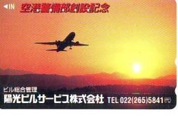 Télécarte  JAPON *   (2194) Phonecard JAPAN *   * Airplane * Flugzeug Avion * AVION * AIRLINES * - Flugzeuge