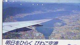 Télécarte  JAPON *   (2205) Phonecard JAPAN *   * Airplane * Flugzeug Avion * AVION * AIRLINES * - Flugzeuge