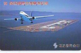 Télécarte  JAPON *  (2208) Phonecard JAPAN *   * Airplane * Flugzeug Avion * AVION * AIRLINES * - Flugzeuge