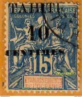 E2 Tahiti 1903 P 33 Type II Oblitéré             La Photo Est Celle Du Produit Fourni. - Tahiti