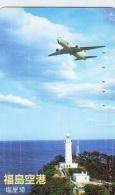 Télécarte  JAPON *  (2233) Phonecard JAPAN *   * Airplane * Flugzeug Avion * AVION * AIRLINES * - Vliegtuigen