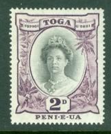 Tonga: 1942/49   Pictorial  SG76   2d   [Die II]  MNH - Tonga (...-1970)