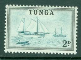 Tonga: 1953   Pictorial  SG103   2d   MH - Tonga (...-1970)