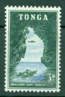 Tonga: 1953   Pictorial  SG104   3d   MH - Tonga (...-1970)