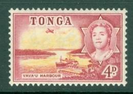 Tonga: 1953   Pictorial  SG106   4d   MH - Tonga (...-1970)