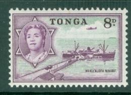 Tonga: 1953   Pictorial  SG109   8d   MH - Tonga (...-1970)