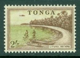 Tonga: 1953   Pictorial  SG111   2/-   MH - Tonga (...-1970)