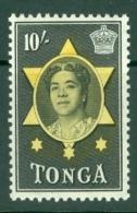 Tonga: 1953   Pictorial  SG113   10/-   MH - Tonga (...-1970)