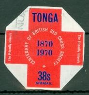 Tonga: 1970   British Red Cross Centenary  SG343   38s   Used - Tonga (...-1970)