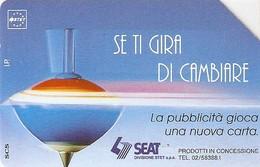 *ITALIA: SE TI GIRA DI CAMBIARE* - Scheda Usata (variante NON CATALOGATA) - Italy