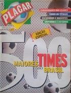 PLACAR (BRÉSIL) 1997 STATISTICS AND CLUB BADGES - Books, Magazines, Comics