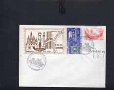 FDC France Congrès  Fédération Des Sociétés Philatéliques Bordeaux  10/11/1984   YT 2316  YT 1659  Signé Par Durrens - ....-1949