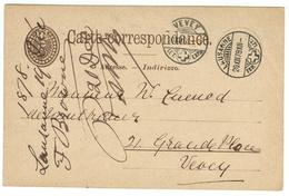 Suisse // Schweiz // Switzerland //  Entier Postaux //  Entier Au Départ De Lausanne Le 20.12.1878 - Interi Postali