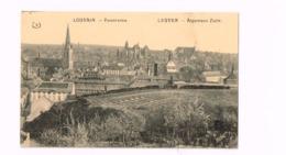 """Panorama.Feldpost.""""Deutsches Lazarett,Löwen"""".Expédié à Waldeck-Pyrmont (Hessen) - Leuven"""