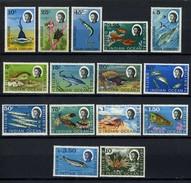 1968 - TERRITORIO BRITANNICO DELL'OCEANO INDIANO - Mi. Nr. 16/30 - NLH - (CW2427.44) - Territorio Britannico Dell'Oceano Indiano