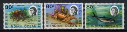 1968 - TERRITORIO BRITANNICO DELL'OCEANO INDIANO - Mi. Nr. 36/38 - NLH - (CW2427.44) - Territorio Britannico Dell'Oceano Indiano