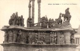 PLEYBEN -29- DETAIL NORD DU CALVAIRE - Pleyben
