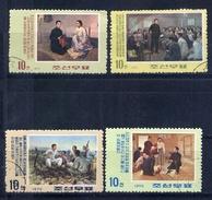 DPRK (North Korea) 1969 Art 947A-947D. PAINTING - Korea, North
