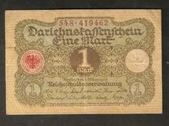 Pa. Germany Weimar Republic Darlehenskassenschein 1 MARK 1920 - # 548 . 419462 - [ 3] 1918-1933 : Weimar Republic