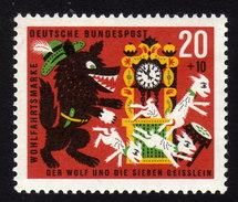 BRD 1963 ** Uhr, Clock - MNH - Uhrmacherei