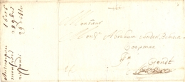 Complete Brief Antwerpen - Gent 28 September 1686 - 1621-1713 (Pays-Bas Espagnols)