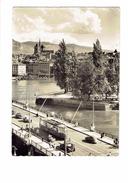 Cpm - Suisse - GENEVE - Pont Du Mont Blanc - 2076 Jaeger - Voiture Camion Tramway Vélo Solex ? - GE Geneva