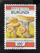 TIMBRE OBLITERE DU BURUNDI DE 1992 N° MICHEL 1752 - Burundi
