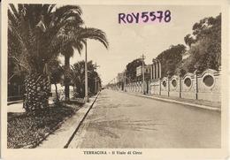 Lazio-latina-terracina Veduta Il Viale Di Circe Anni 40/50 - Italia