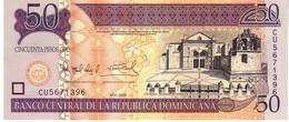Dominican Republic  P.176b  50 Pesos 2008 Unc - Dominicana
