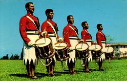 FIJI - DRUMMERS - PROBABLY 1960s - Fiji