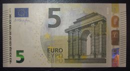 5 EURO Y001G1 DRAGHI GREECE SERIE YA Perfect UNC - EURO