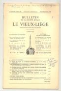 Bulletin Le Vieux Liège  N°193 Et 194/ 1976 -  Liège, Tavier, Voroux - Gorreux, Montre, Horlogerie ,... - Belgio