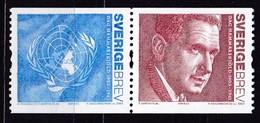 2005, Schweden, 2466/67,  Dag Hammarskjöld. MNH ** - Nuovi
