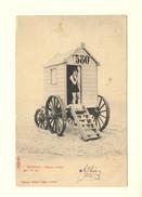 D1385 Postkaart Ostende / Premier Frisson / Albert Sugg / Série 7 N. 111 Excelsior [cabine 580 Vrouw Femme] - Oostende