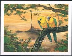 Bloc Sheet Oiseaux Perroquets Birds Parrots Macaws Neufs MNH ** Guyana - Papagayos
