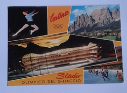 CORTINA D' AMPEZZO - STADIO OLIMPICO DEL GHIACCIO (9886) - Belluno