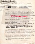 51 - EPERNAY - LETTRE CHAMPAGNE MERCIER -1947 - 1950 - ...