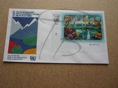 NATIONS UNIES GENEVE FDC N° 202 - 205 !!! - FDC