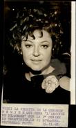 PHOTO - Photo De Presse - Chanteur - REGINE - Chanteuse - 1969 - Célébrités