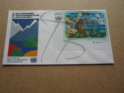 NATIONS UNIES VIENNE FDC N° 118 - 121 !!! - FDC