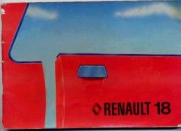 CONDUITE ET ENTRETIEN POUR RENAULT 18 TL ET GTL RENAULT 18 TS ET GTS - Auto