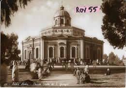 Etiopia Colonia Italiana Addis Abeba Veduta Animata Chiesa Copta Di S.giorgio Anni 30/40(vedere Retro) - Etiopia