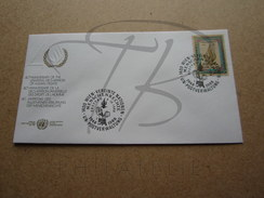 NATIONS UNIES VIENNE FDC N° 87 !!! - FDC