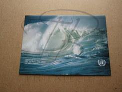 NATIONS UNIES , DOCUMENT PREMIER JOUR , OCEANS PROPRES 1992 !!! - Emissions Communes New York/Genève/Vienne