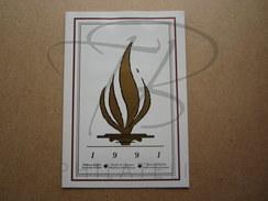 NATIONS UNIES , DOCUMENT PREMIER JOUR , DROITS DE L'HOMME , 1991 !!! - Emissions Communes New York/Genève/Vienne