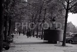 1963 WC PLACE PARVIS PARIS FRANCE 35mm AMATEUR NEGATIVE NOT PHOTO NEGATIVO NO FOTO - Other